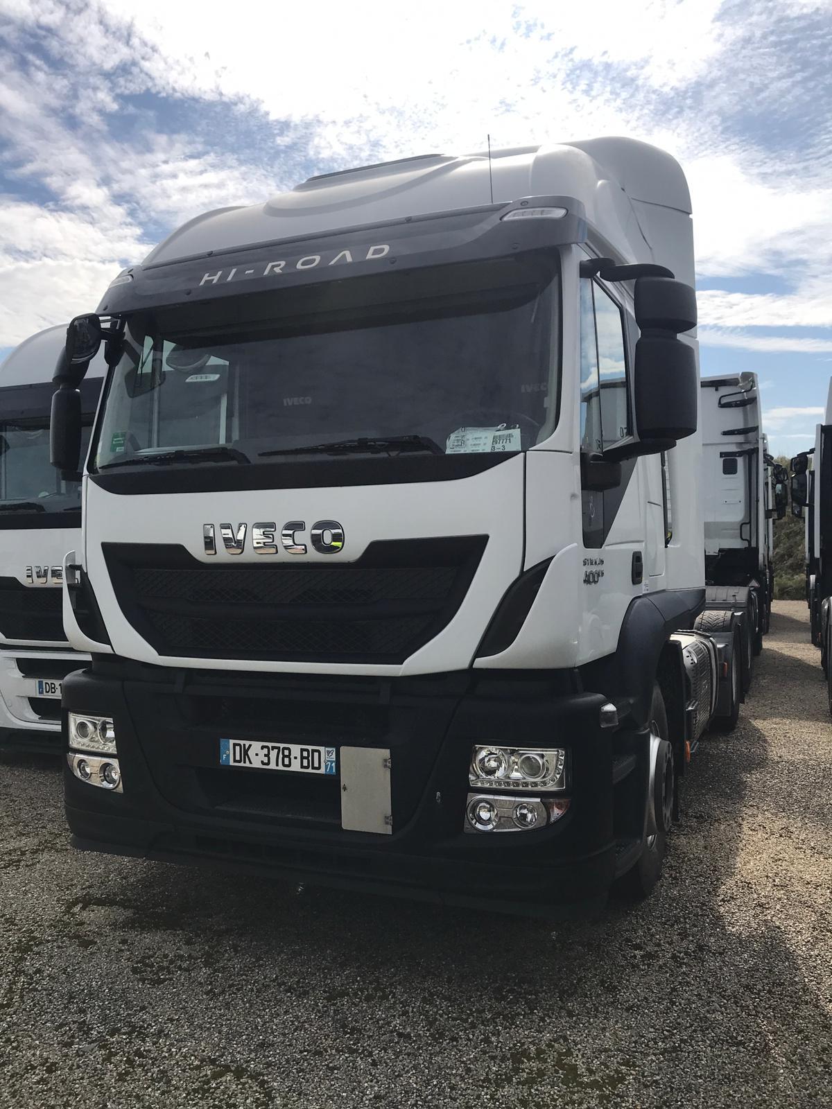 الشركة الدولية للتجارة والخدمات  راس قاطرة  Iveco  Stralis  400 سنة الصنع 2014