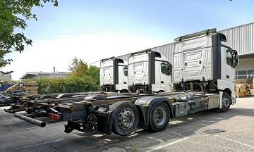 الشركة الدولية للتجارة والخدمات  شاصي طويل  Mercedes  Actros  2542 سنة الصنع 2013
