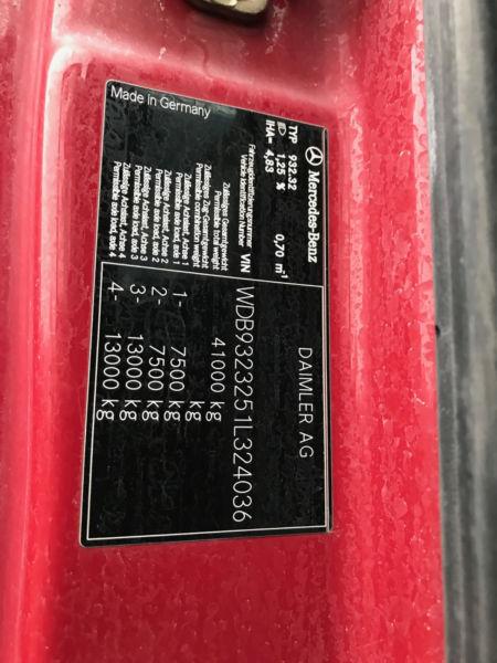 الشركة الدولية للتجارة والخدمات  خلاط مع مضخة  Mercedes  Actros  4151 سنة الصنع 2008