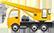 شاحنة مع رافعة